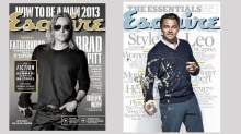 Esquire Magazine Covers - Brad Pitt and Leonardo DiCaprio