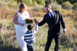 You just married the best Mom! High five!