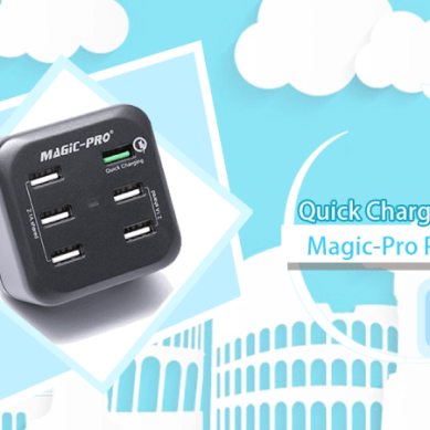 Quick Charge 2.0 旅行充電器 Magic-Pro ProMini 6TQ
