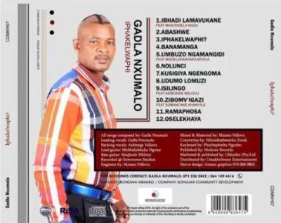 Gadla Nxumalo – Kusigiya Ngemgoma Mp3 download