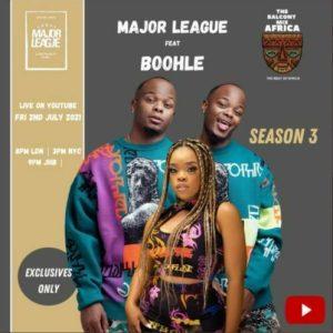 Major League and Boohle Mposa.co .za  300x300 - Major League & Boohle – Amapiano Live Balcony Mix B2B (S3 EP03)