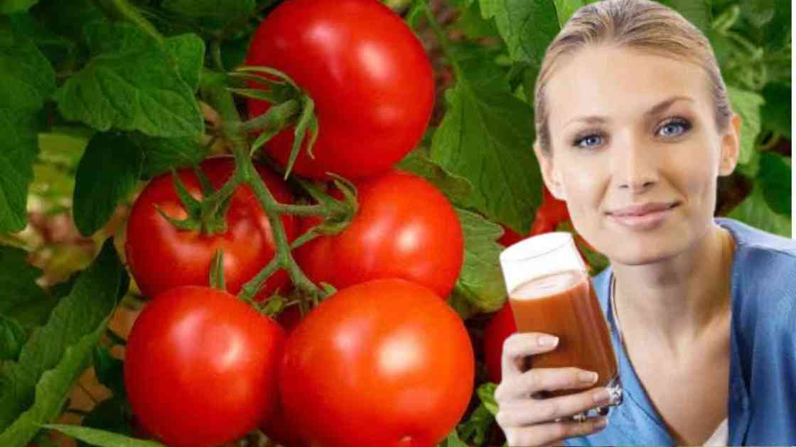 Tomato juice for high blood pressure