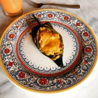 Migas Stuffed Breakfast Chile Rellenos