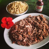 Going Hawaiian Style: Kalua Pork and Hawaiian Macaroni Salad…..