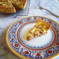 Spanish-Style Chorizo and Potato Quiche