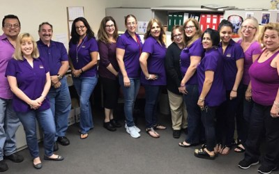 Riverside Paper Co. shows their support for MPS Awareness Day