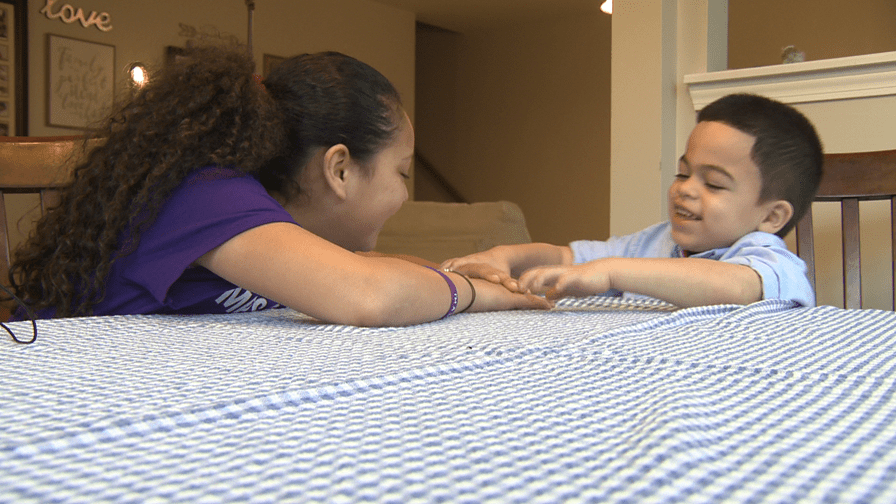Charlotte 11-year-old spreads awareness for cousin's debilitating disease