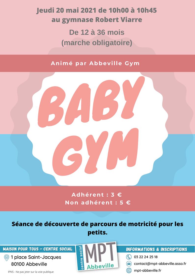 Bébés parents : baby gym