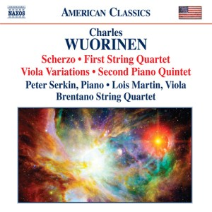 Charles Wuorinen - (2011) Scherzo, String Quartet No. 1, Viola Variations, Piano Quintet No. 2
