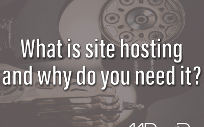 What is site hosting and why do you need it?
