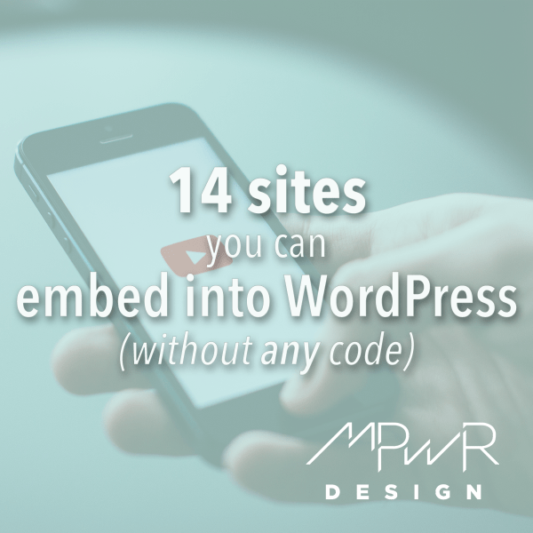 14 sites you can embed into WordPress