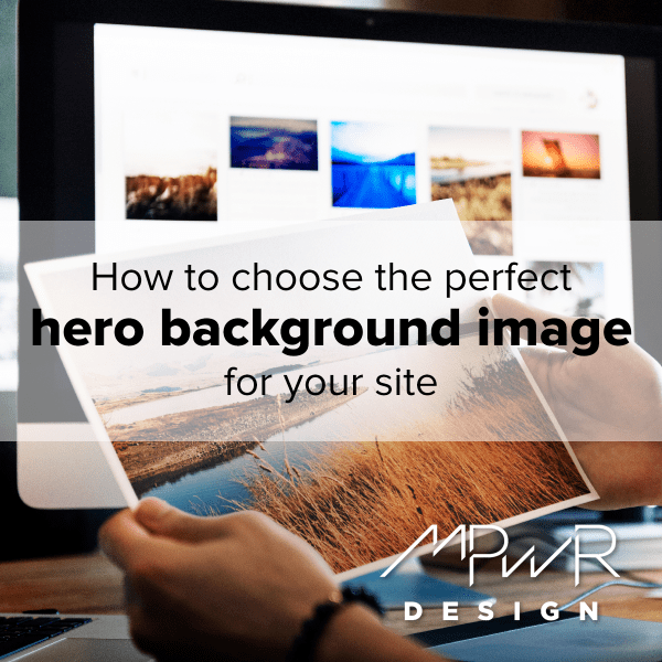 How to choose the perfect hero background image for your site