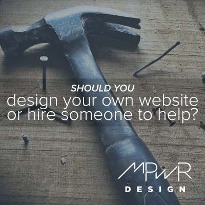 Should you design your own website or hire someone to help?