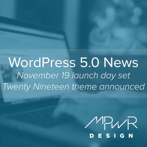 WordPress 5.0 News