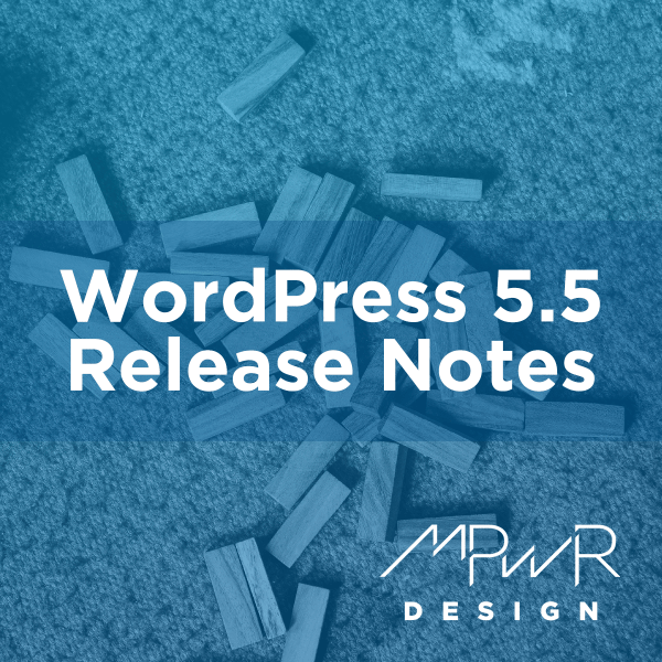 WordPress 5.5 Release Notes