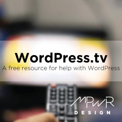 WordPress.tv: A free resource for help with WordPress
