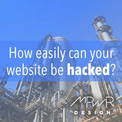 How easily can your website be hacked?