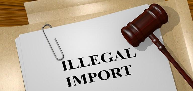 illegal import