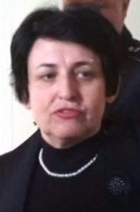 Клавдія Сдобнякова, яка керувала блокуванням приміщення міської ради