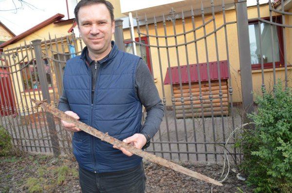 Гредунов, шабля