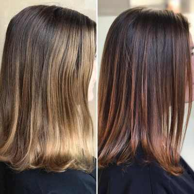 hair gloss and hair glossing treatments