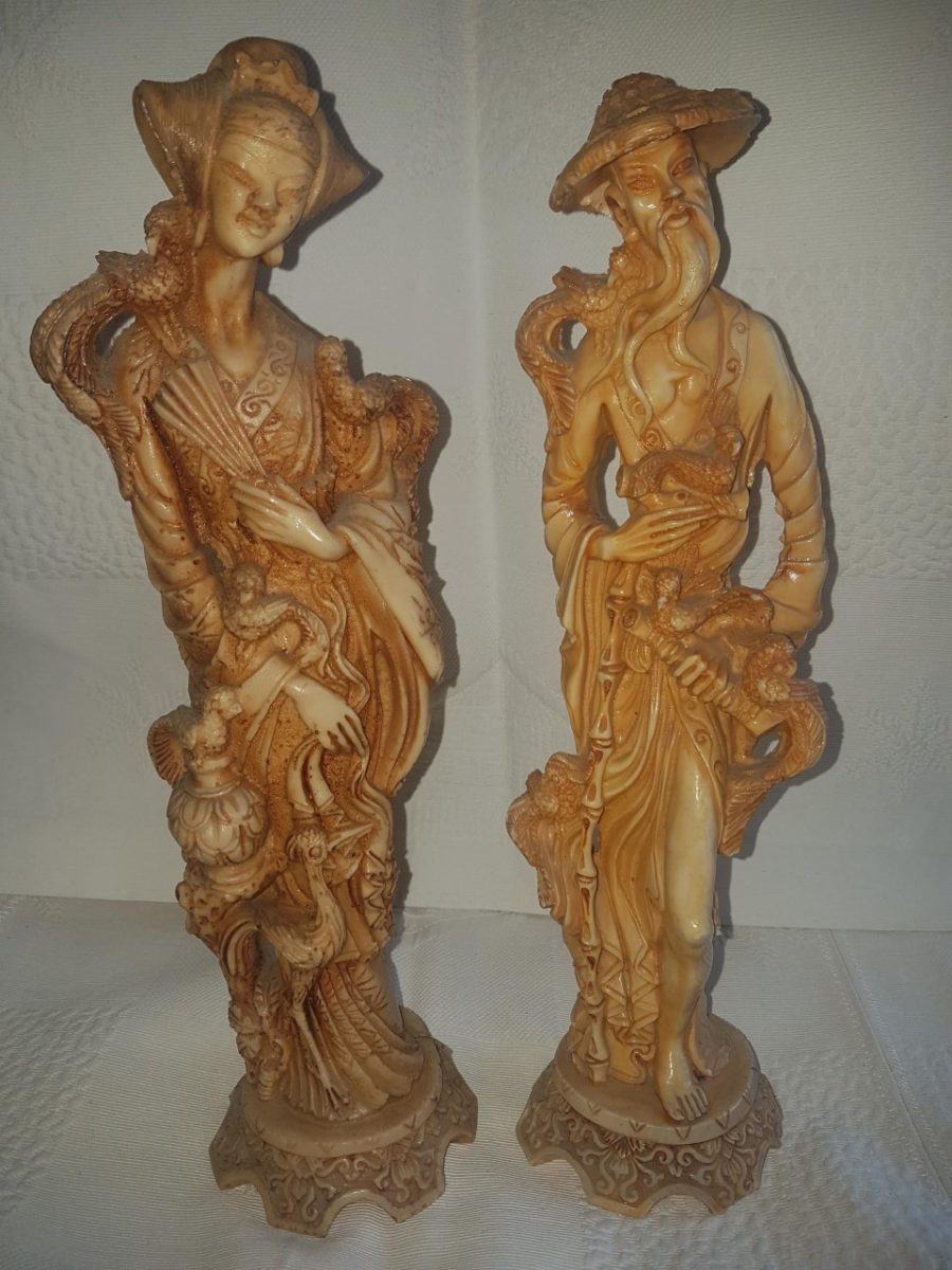 statuettes chinoises anciennes en
