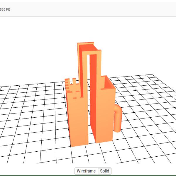 STL mini trop-plein (micro overflow STL)
