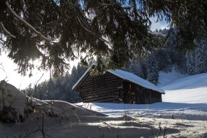 The Garmisch region is an enchanted winter wonderland