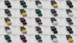 25 Farbbeispiele (Farben könnten vom Bildschirm abweichen)