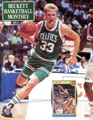 #07 February 1991-Larry Bird Basketball Becketts
