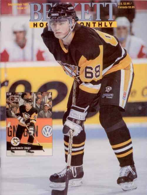 #11 September 1991-Jaromir Jagr Hockey Beckett