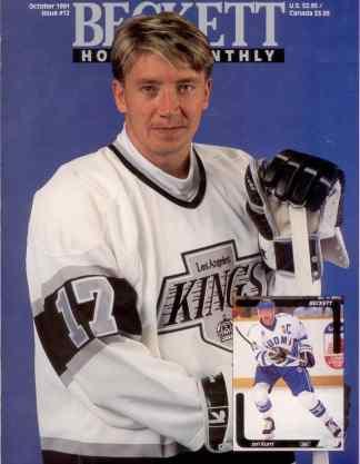 #12 October 1991-Jari Kurri Hockey Beckett