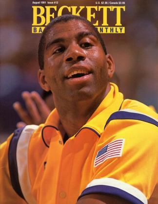 #13 August 1991-Magic Johnson Basketball Beckett