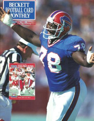 #14 May 1991-Bruce Smith Football Becketts