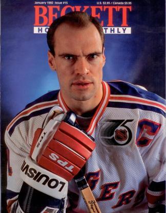 #15 January 1992-Mark Messier Hockey Beckett