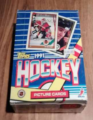1991 Topps Hockey Card 36 Pack Box
