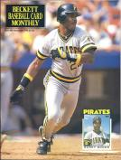 #68 November 1990-Barry Bonds Baseball Beckett