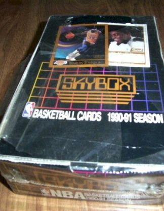 1990-91 Skybox Basketball Cards Box - JORDAN