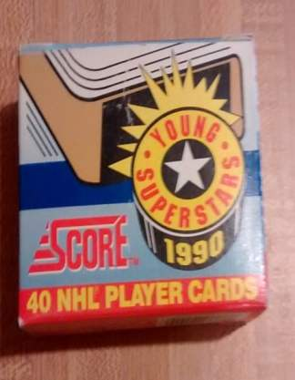 1990 Score Young Superstars Hockey Set