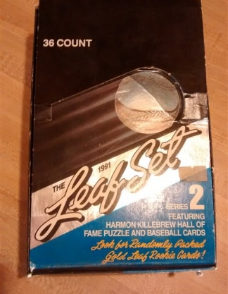 1991 Leaf Set Series 2 Baseball Box