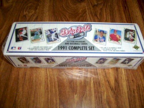 1991 Upper Deck Baseball Complete Factory Sealed Card Set