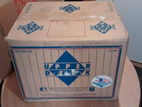 1991 Upper Deck High Series Baseball Case