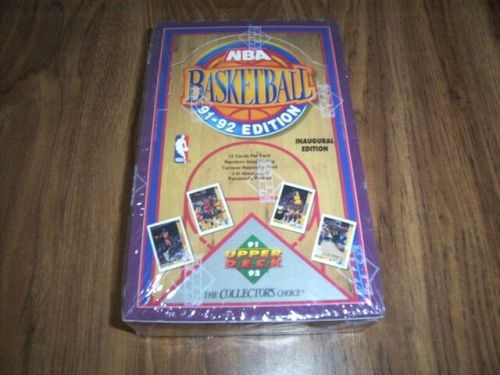 1991-92-Upper Deck Basketball INAUGURAL EDITION