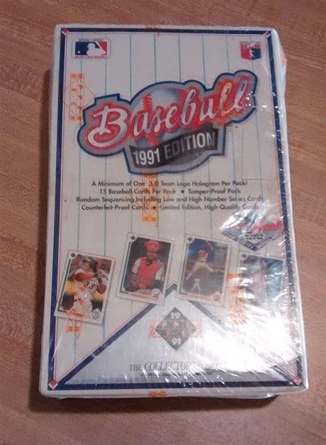 1991 Upper Deck Low Series Baseball Hobby Box