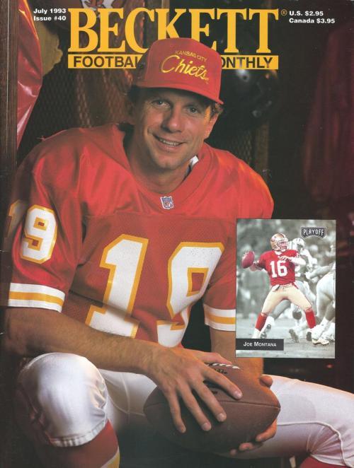 #40 July 1993-Joe Montana Beckett