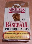 Baseball Boxes Clearance Sale