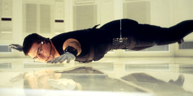 Image result for mission impossible hack scene knife