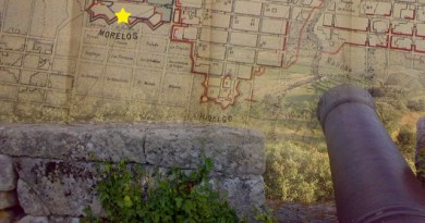 Linea de Redientes del Parral (Morelos)