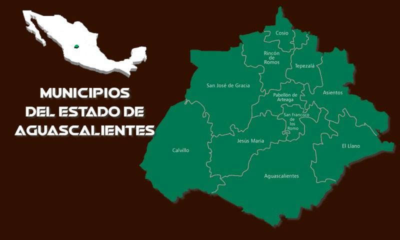 Municipios del Estado de Aguascalientes