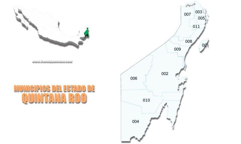 Municipios del Estado de Quintana Roo